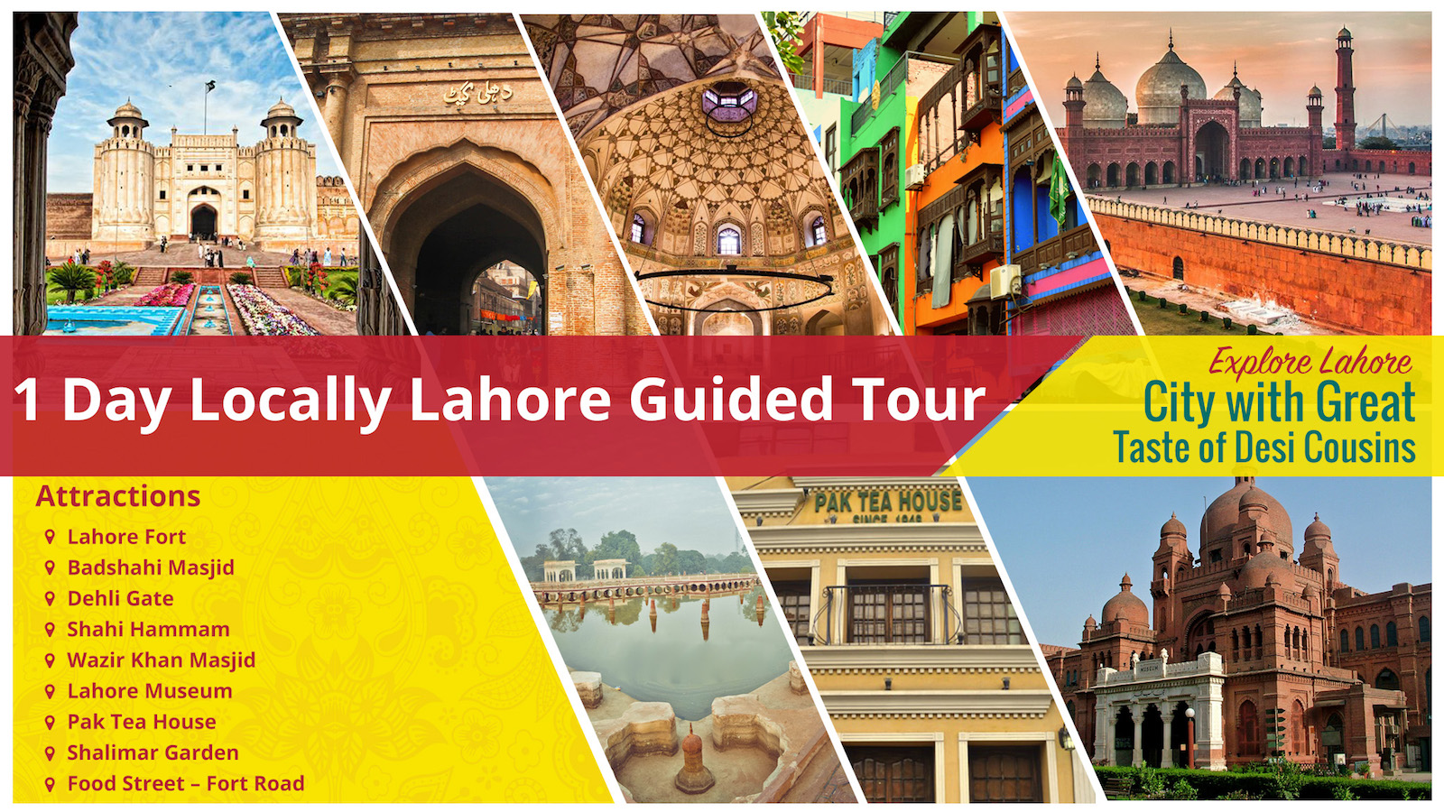 One Day Lahore City Guided Tour