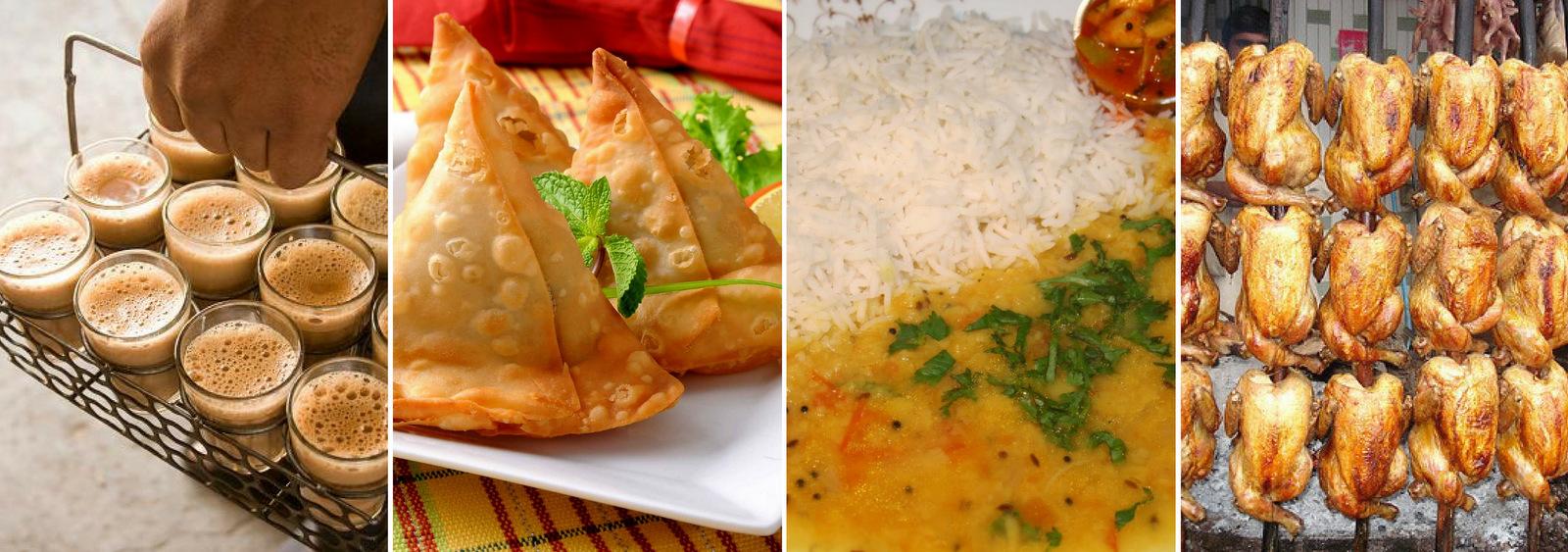 Street Side Food Restaurants known as Dhabas in Lahore