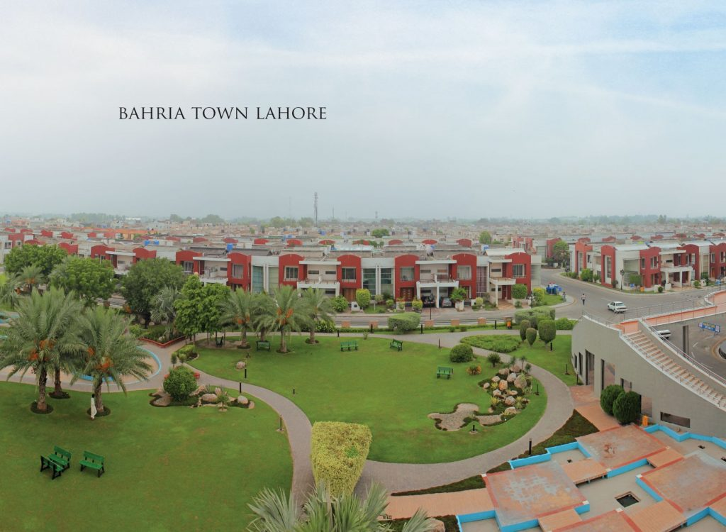 Bahria Town one posh locality in Lahore