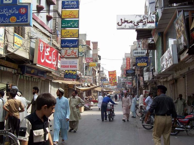 Anarkali Bazaar Lahore