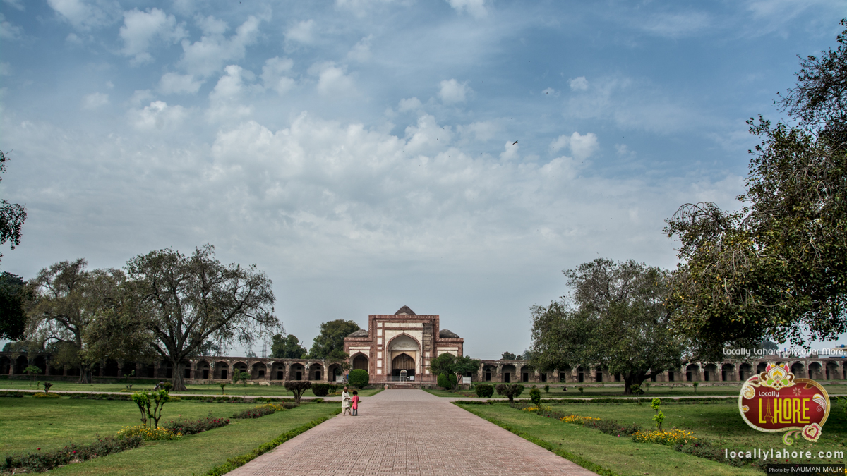 Historical sites in Lahore