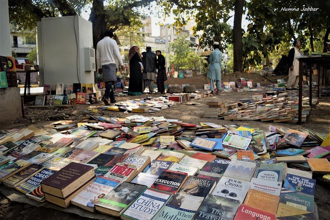 Gem in The Dirt- Sunday Open Book Bazaar at Anarkali Lahore