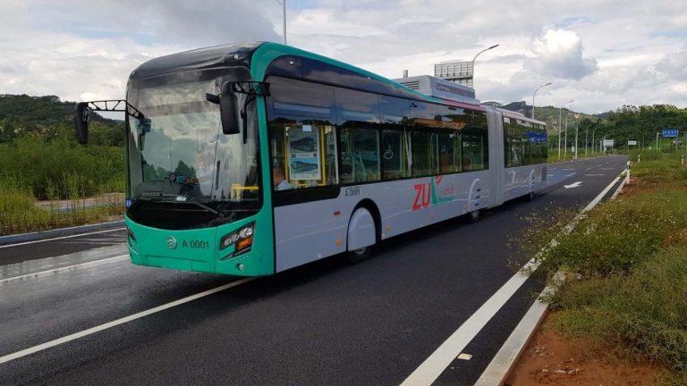 BRT Peshawar Bus