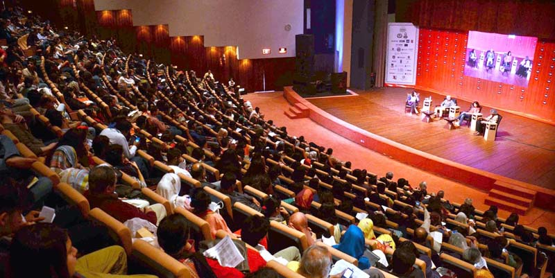 Participants at Lahore Literary Festival 2017