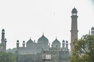Badshahi mosque walled city Lahore