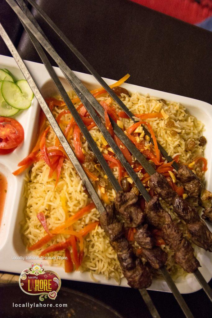 Kabuli Pulao symbol of Afghani cuisine