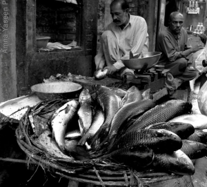 Fish Market Walled city Lahore