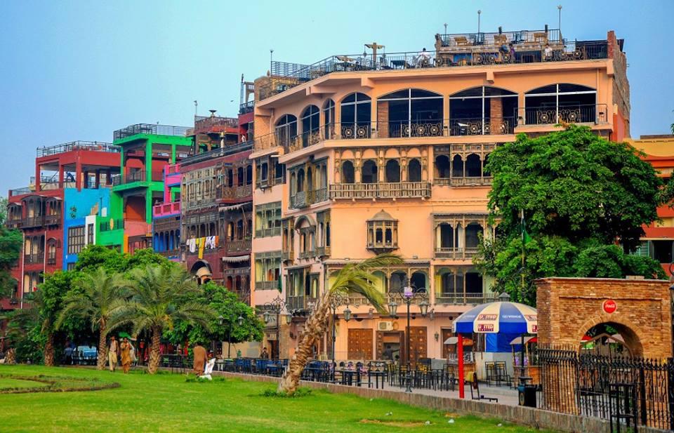 Food Street-Walled City Lahore