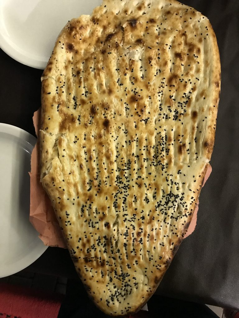 Afghani Naan is famous for its look and texture