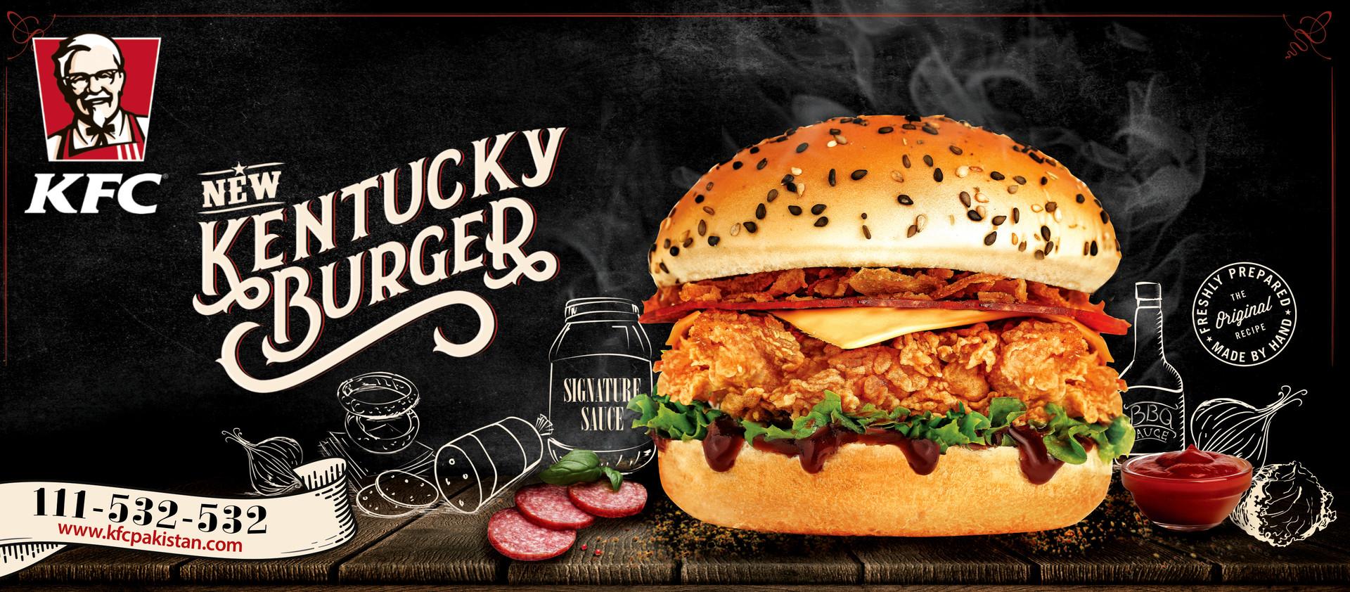 KFC Kentucky Burger