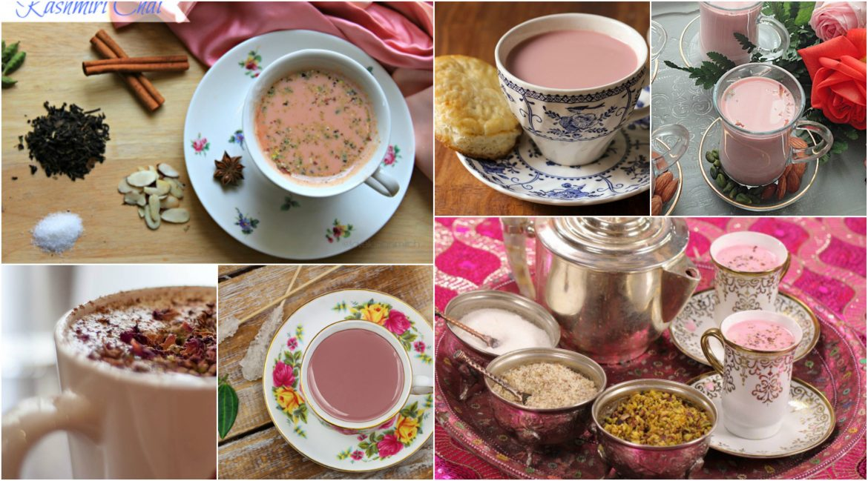 Kashmiri Chai, a traditional aroma tea.