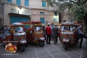 Decorated Riksha Lahore
