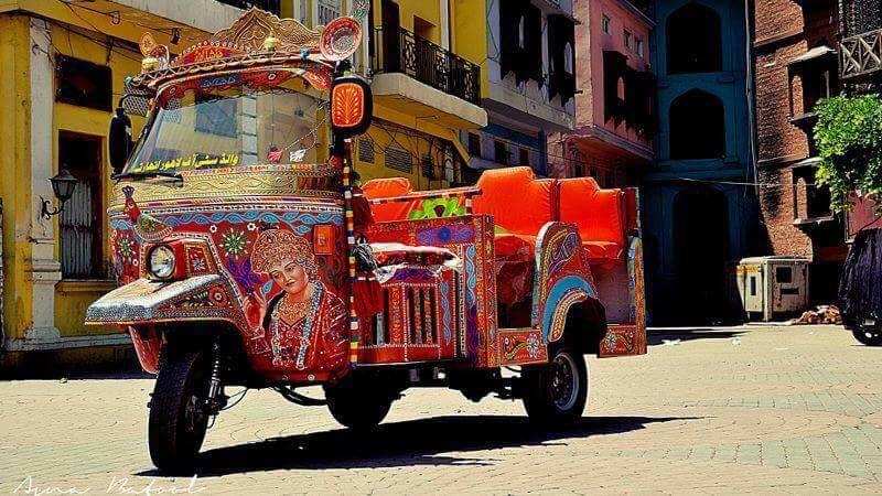 Rangeela Riksha Lahore