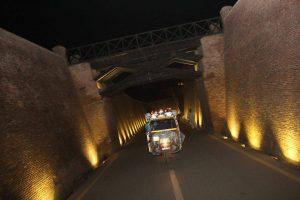 Decorated Riksha Transport