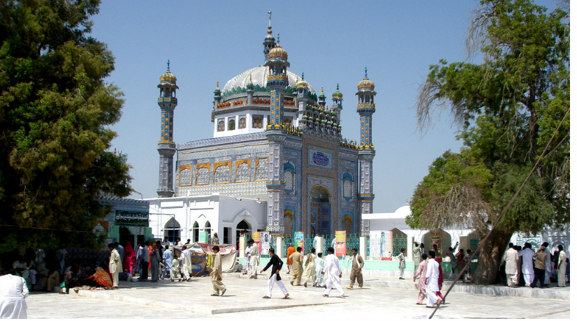 Image result for Shrine of Sachal Sarmast, Khairpur