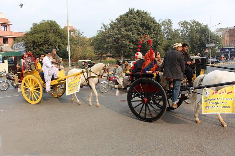 Tonga Ride Lahore