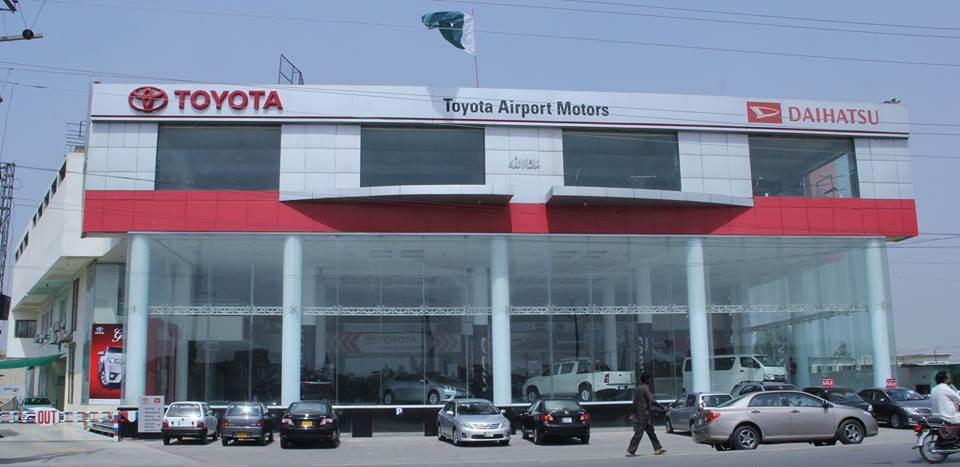 Toyota airport motors