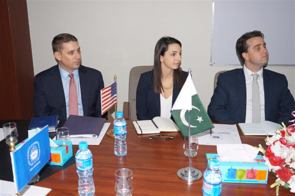 U.S Consulate Visited Sialkot Chamber