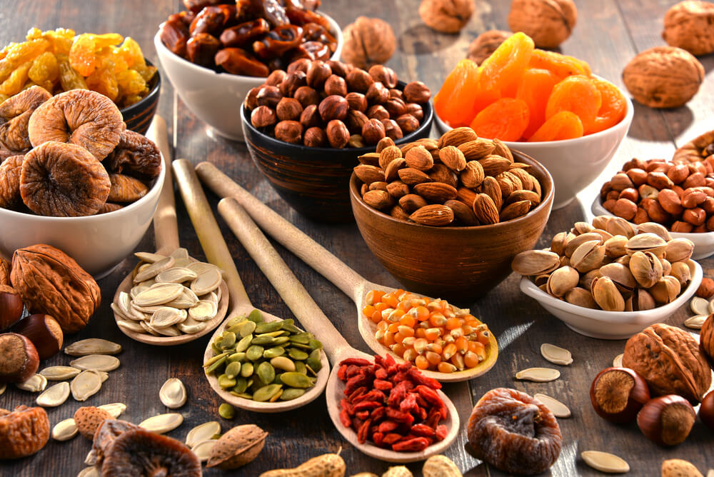 Some delicious dry fruits