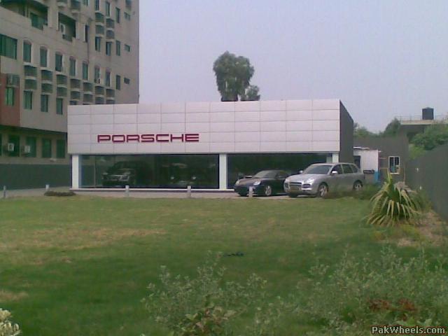 Porsche center Lahore