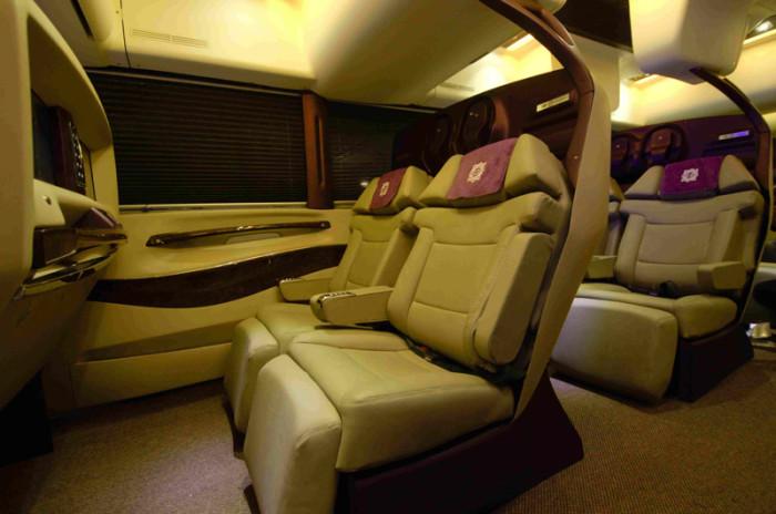 Pakistan S First High Luxury Bus Service