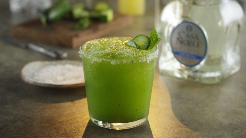 Surely refreshing mint margarita