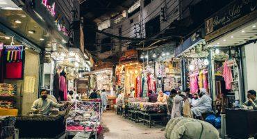 busy wholesale bazaar