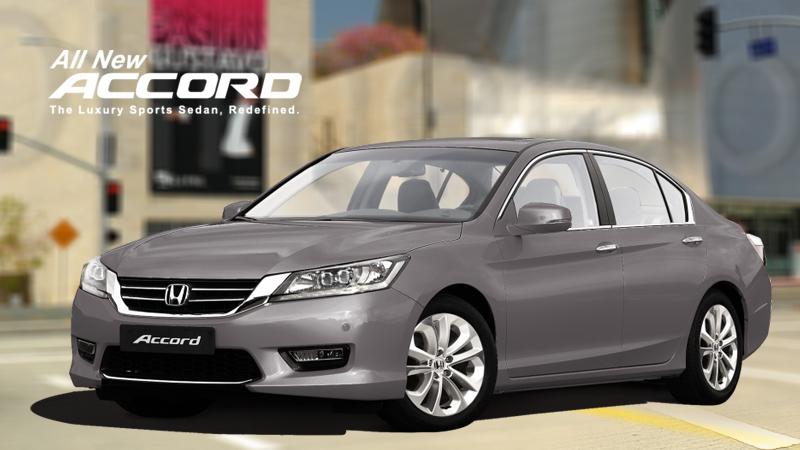 Honda Accord a name luxury
