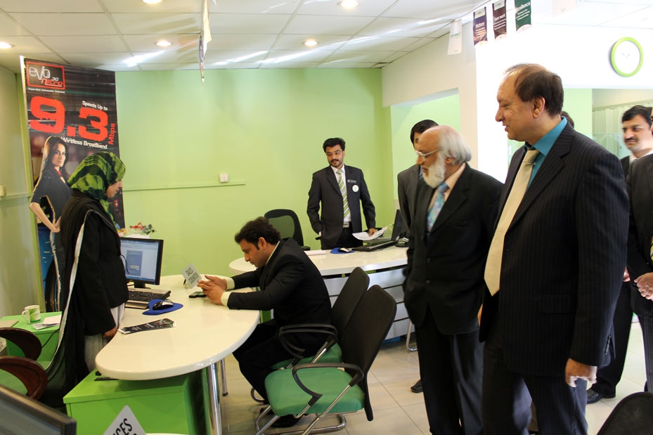 PTCL Customer Care Center Inside View