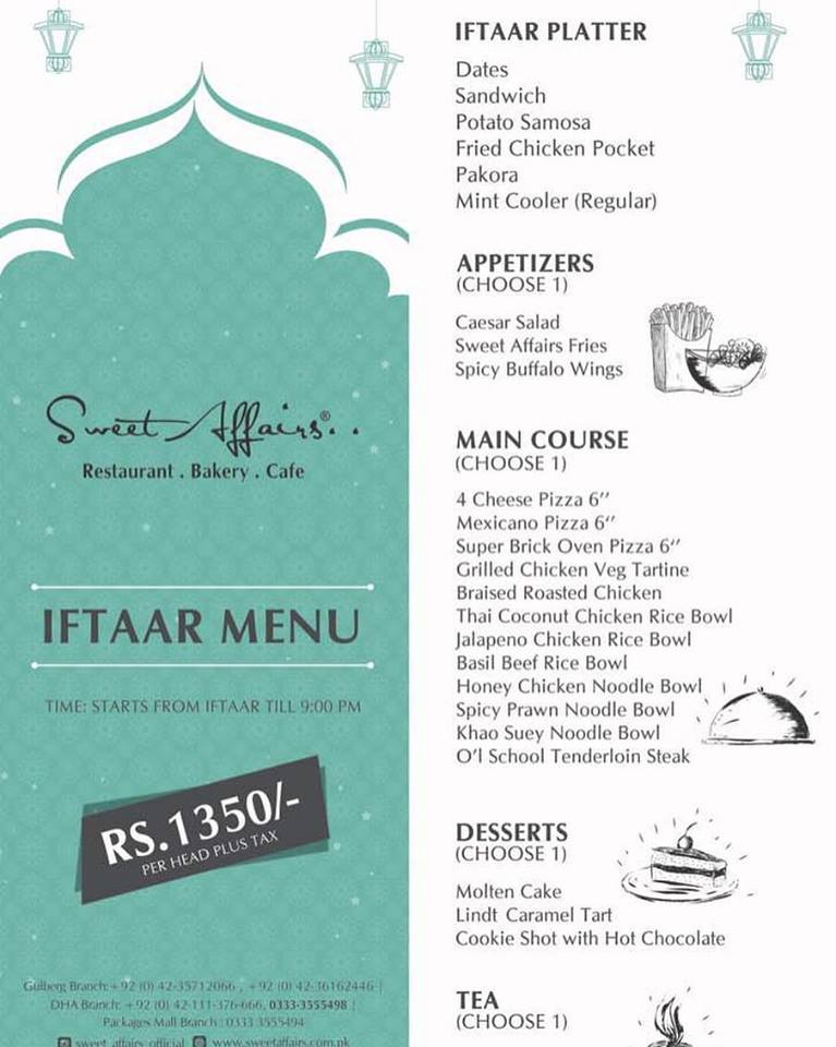 Iftar deals mm alam road