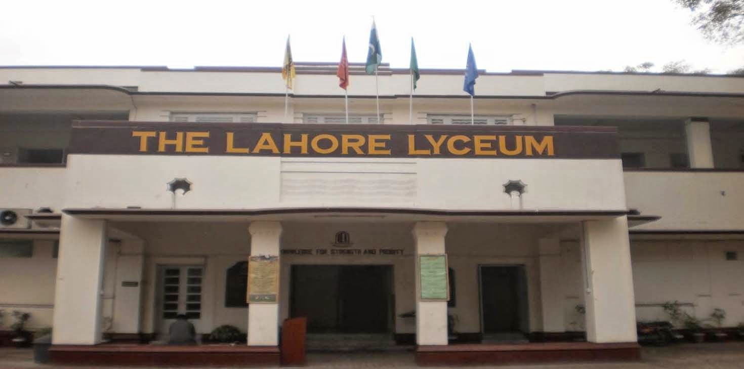 The Lahore Lyceum -Knowledge for strength and probity