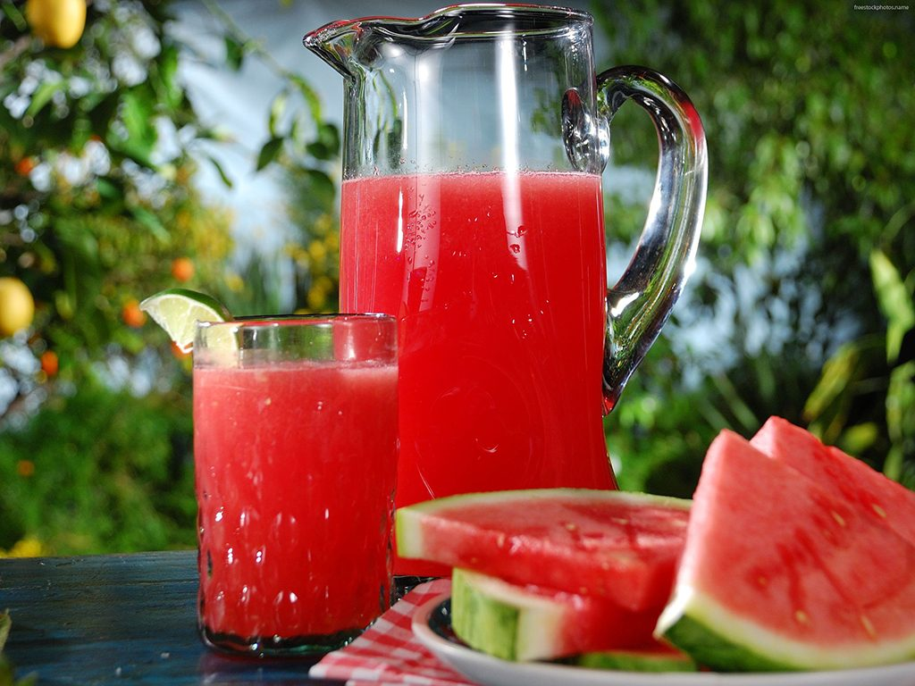 Watermelon drink, try something different